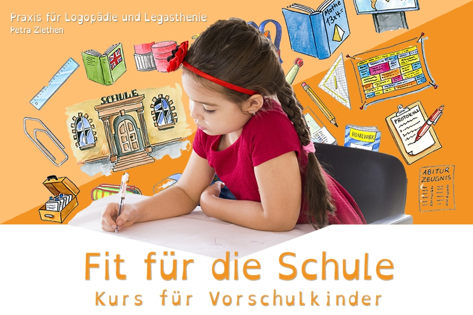 Fit für die Schule – Kurs für Vorschulkinder