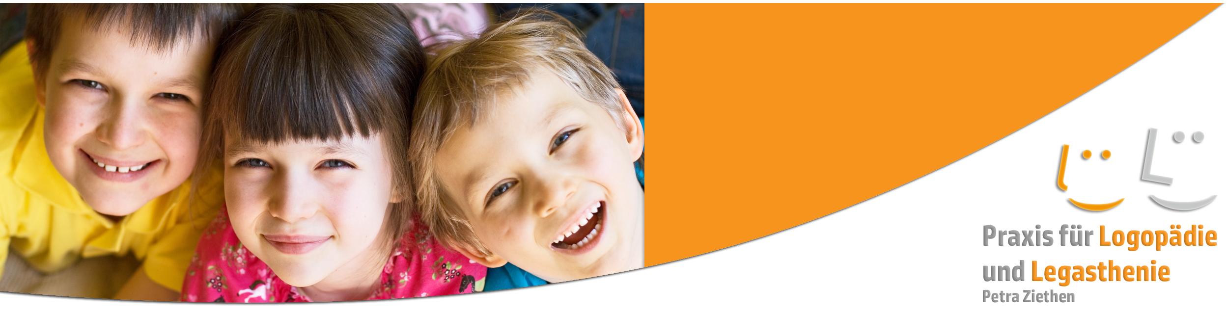 Logopädie Ziethen lachende Kinder